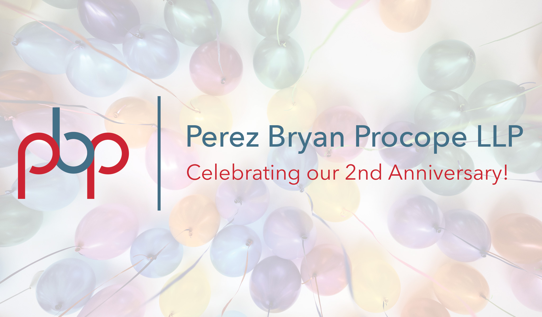 PBP Lawyers Anniversary Balloons